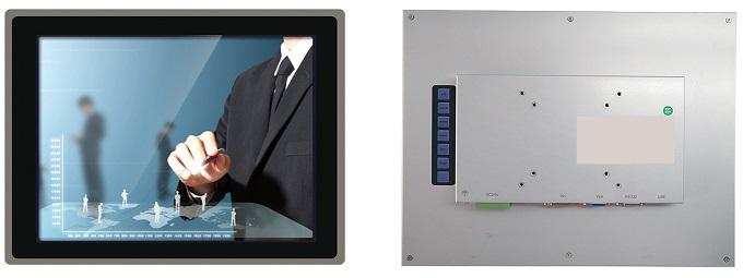 "fpm-3121, 12.1"", industrial monitor, VGA, DVI"