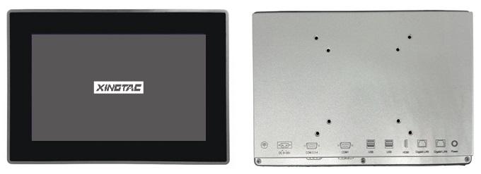 панельный ПК для промышленного применения TPC-2101S, 10.1 дюймов ёмкостный экран